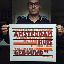 Jan Campert poster