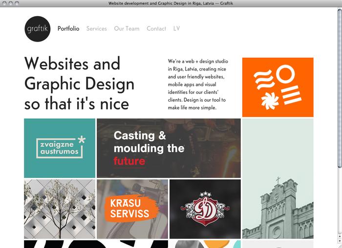 Graftik website 1