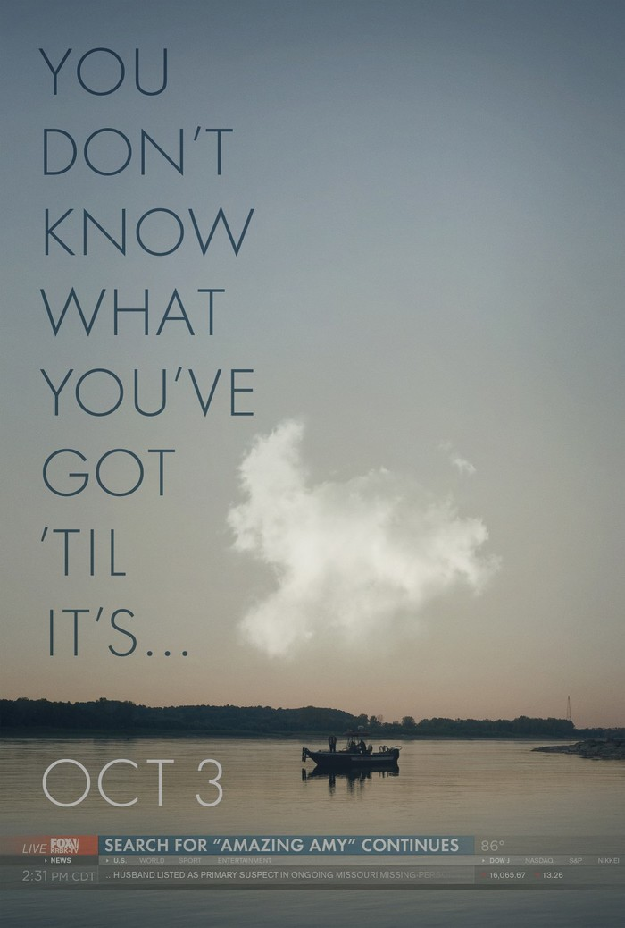 Gone Girl movie posters 1