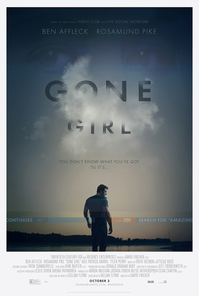 Gone Girl movie posters 2