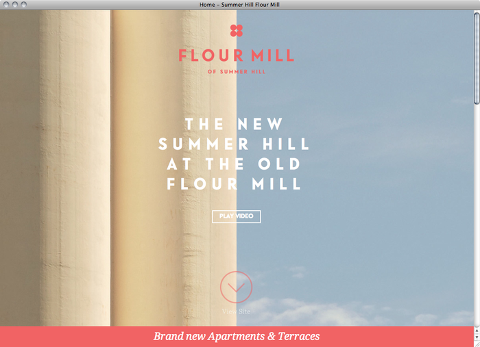 Summer Hill Flour Mill website 1