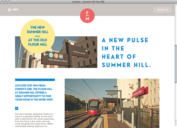 Summer Hill Flour Mill website 4