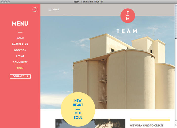 Summer Hill Flour Mill website 5