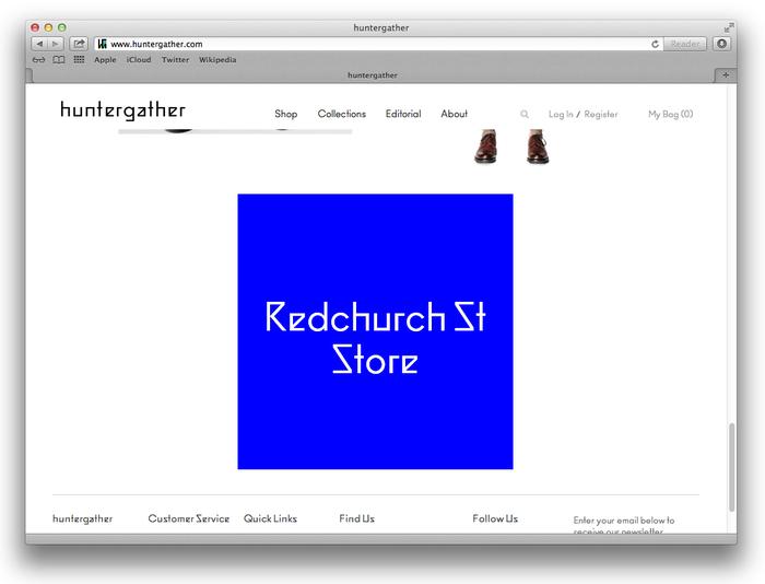 Huntergather website 6