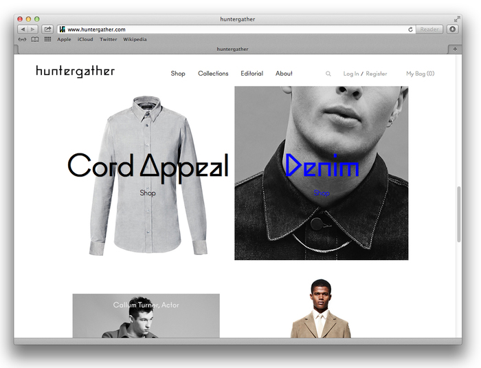 Huntergather website 4