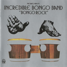 Michael Viner's Incredible Bongo Band – <cite>Bongo Rock</cite> album art