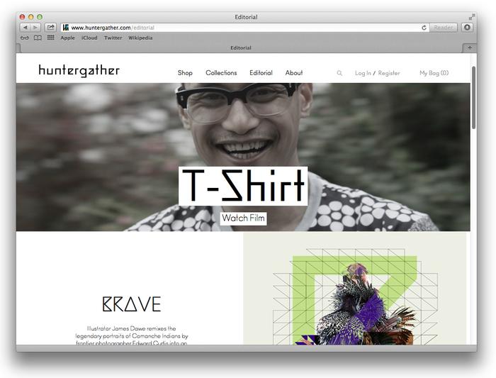 Huntergather website 5