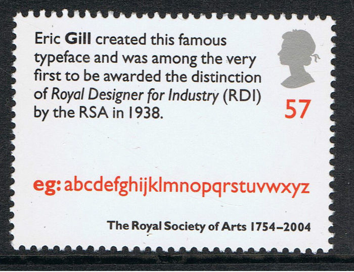 Royal Society of Arts 250th Anniversary stamps 1