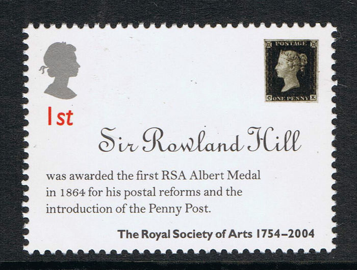 Royal Society of Arts 250th Anniversary stamps 2