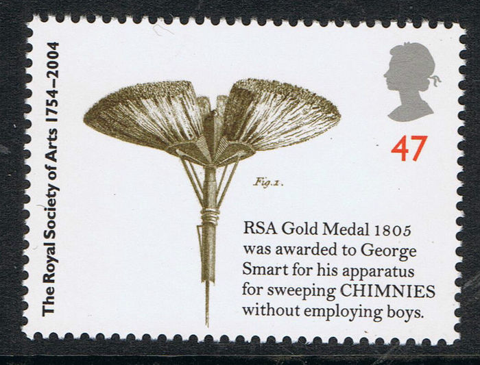 Royal Society of Arts 250th Anniversary stamps 3