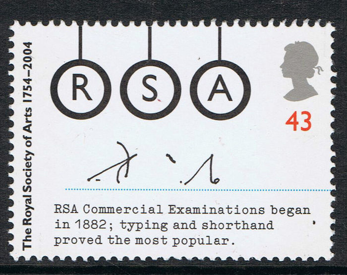 Royal Society of Arts 250th Anniversary stamps 7