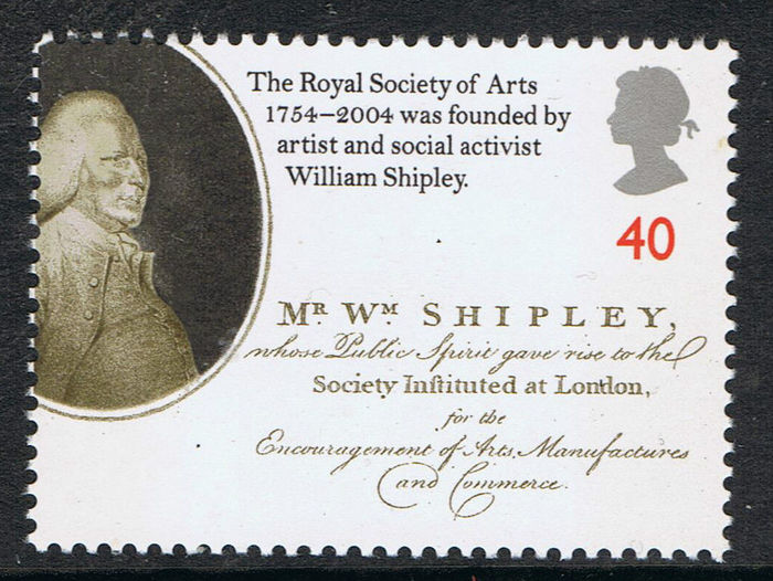 Royal Society of Arts 250th Anniversary stamps 8