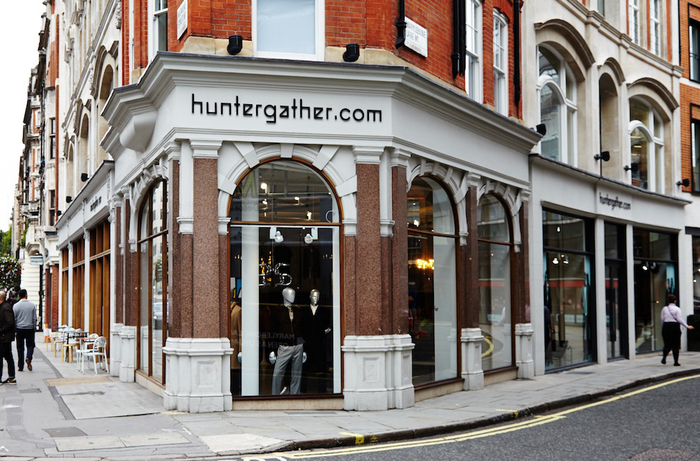 Huntergather shops 1