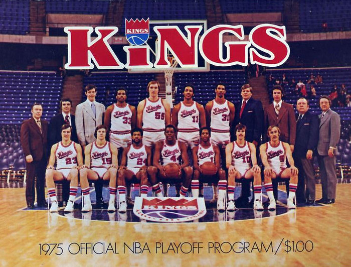 Kansas City-Omaha Kings logos, pennant, program 4