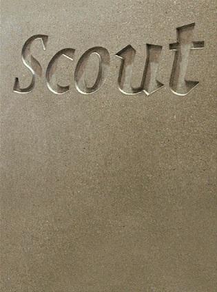 Scout gallery reception desk 1