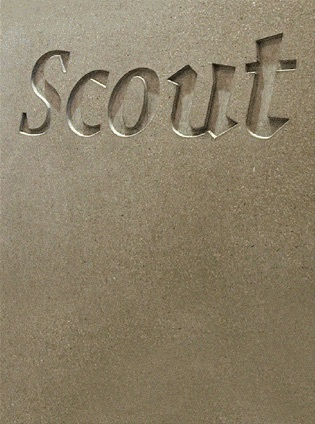 Scout gallery reception desk 1