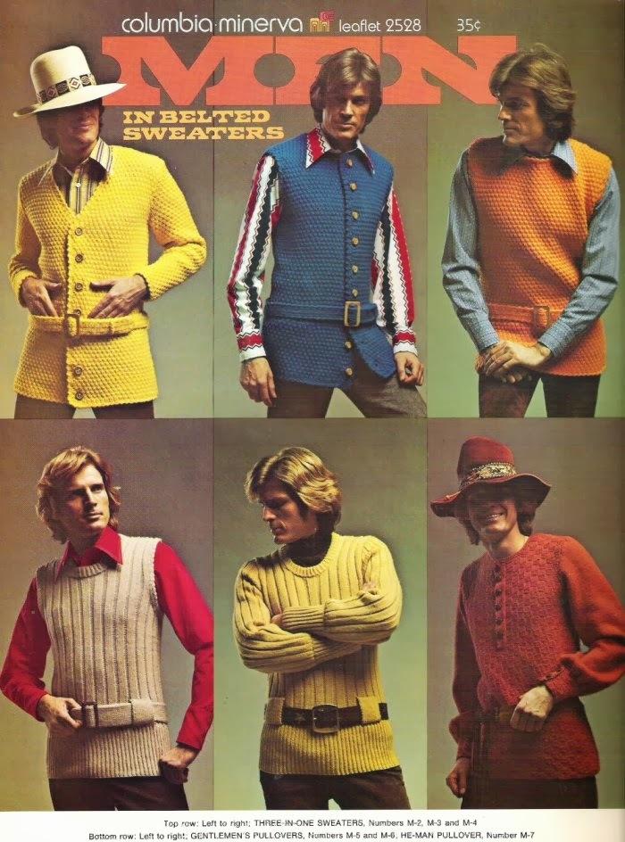 Men in Belted Sweaters 1