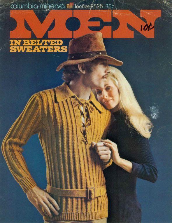 Men in Belted Sweaters 2