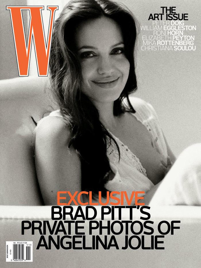 """W magazine, November 2008, """"The Art Issue"""" 1"""