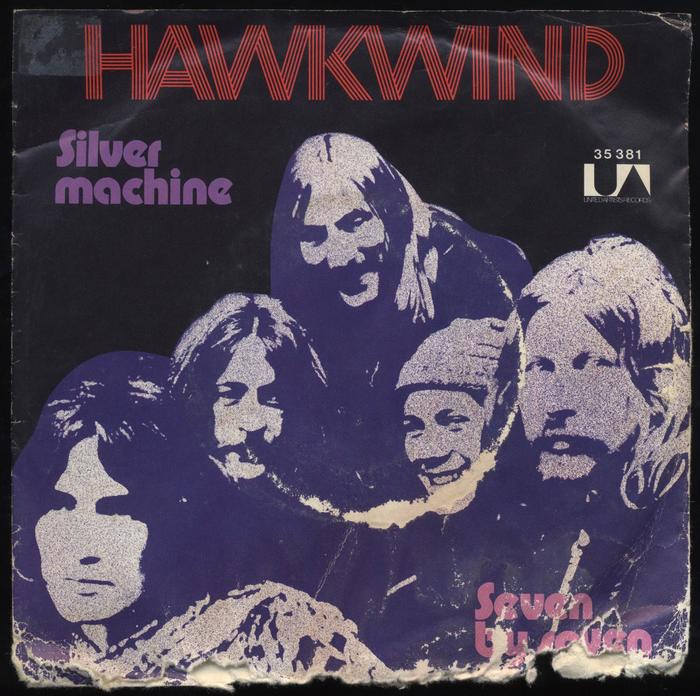 """""""Silver Machine"""" – Hawkwind (United Artists Records)"""