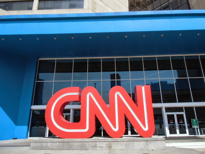 CNN Center (headquarters) in Atlanta.