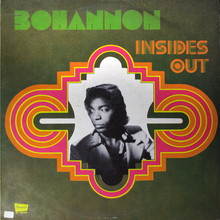Bohannon – <cite>Insides Out</cite> album art