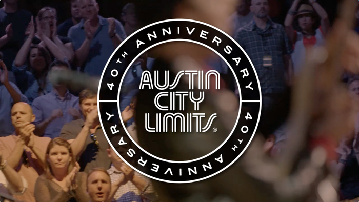 Graphic for Austin City Limits's 40th anniversary season.