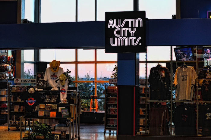 ACL Store/Waterloo Records at the Austin Bergstrom Airport in Austin, Texas.