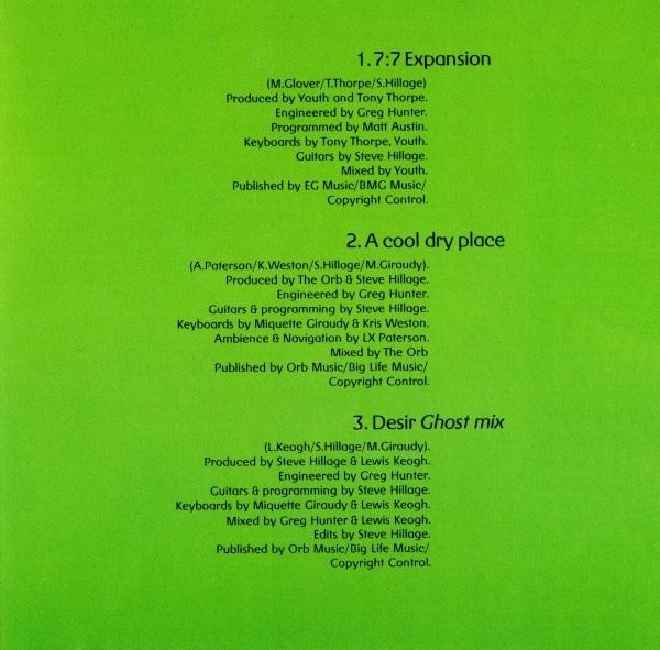 System 7 – 777 album art 4