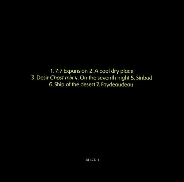 System 7 – 777 album art 3
