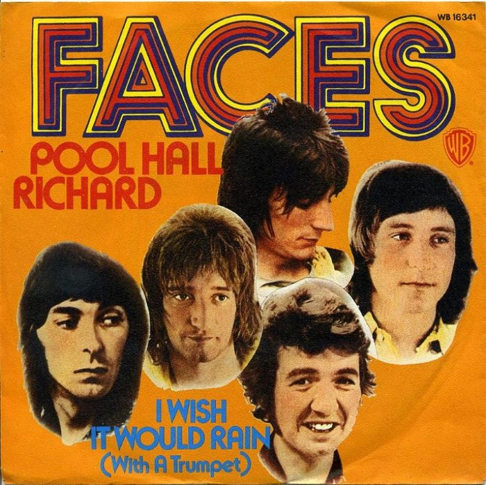 """Poor Hall Richard"" / ""I Wish It Would Rain"" – Faces"
