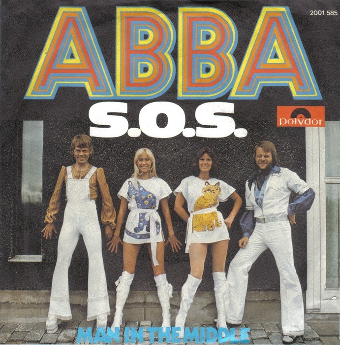 ABBA – S.O.S. / Man In The Middle