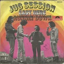 "Jug Session – ""Easy Here""<span class=""nbsp"">&nbsp;</span>/ ""Runnin' Down"" single cover"