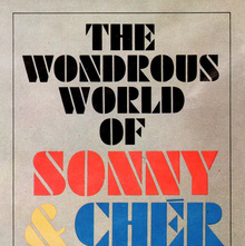 Sonny &amp; Chér – <cite>The Wondrous World Of Sonny &amp; Chér </cite>album art