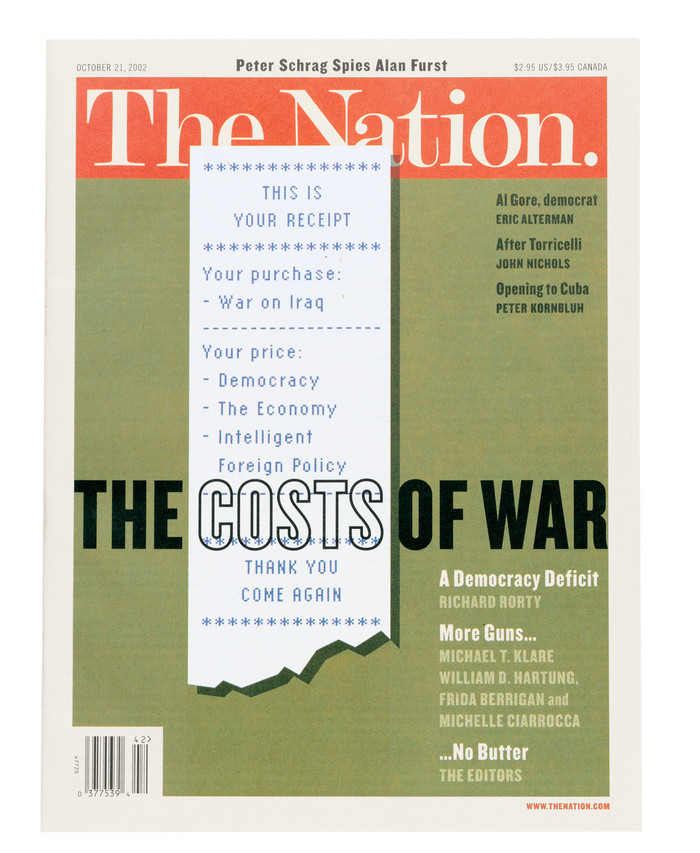 The Nation covers, 2002 1