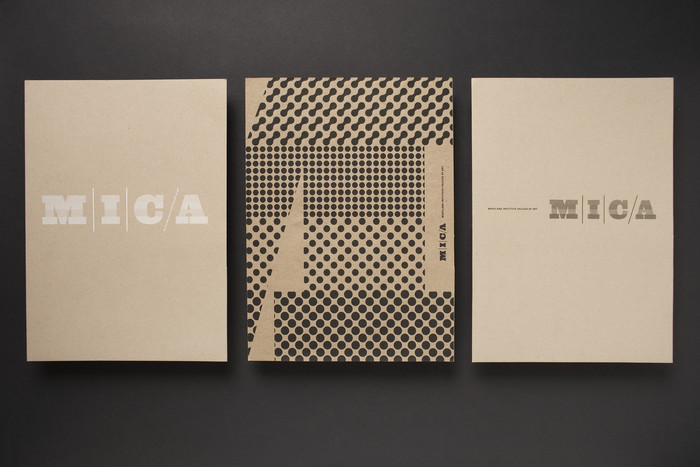 MICA (Maryland Institute College of Art) identity 3