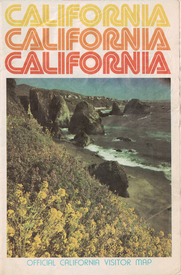 Official California Visitor Map 1