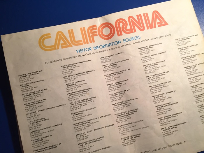 Official California Visitor Map 7
