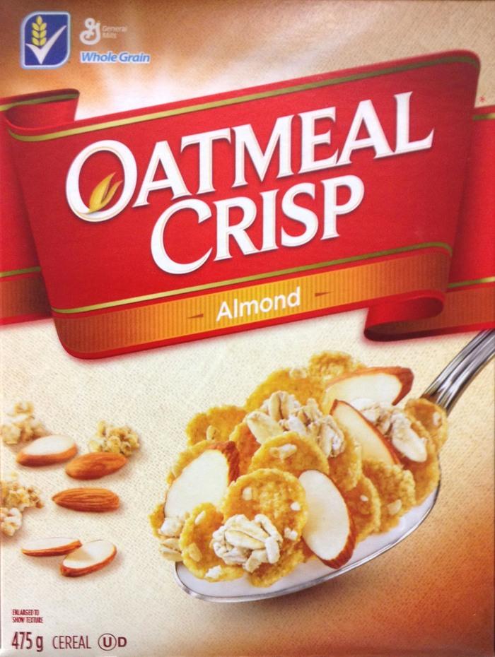 Oatmeal Crisp package