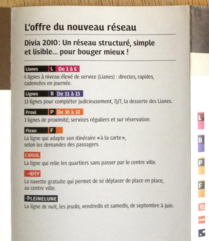 Divia public transit plans, Ville de Dijon 2