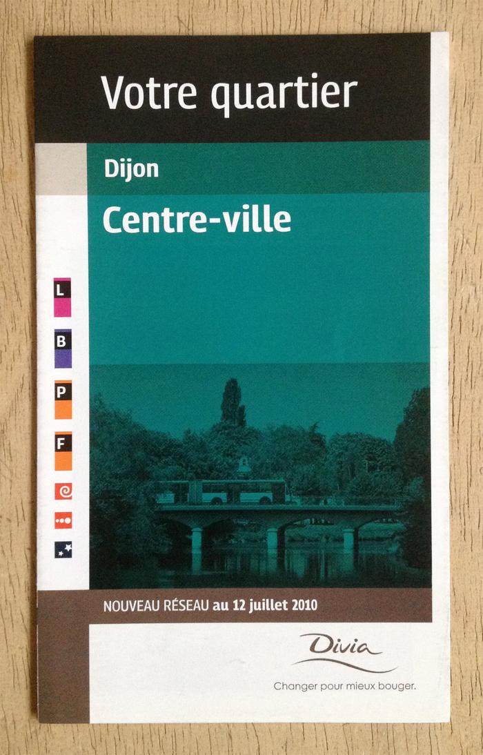 Divia public transit plans, Ville de Dijon 3