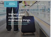 Upright Position Communications website