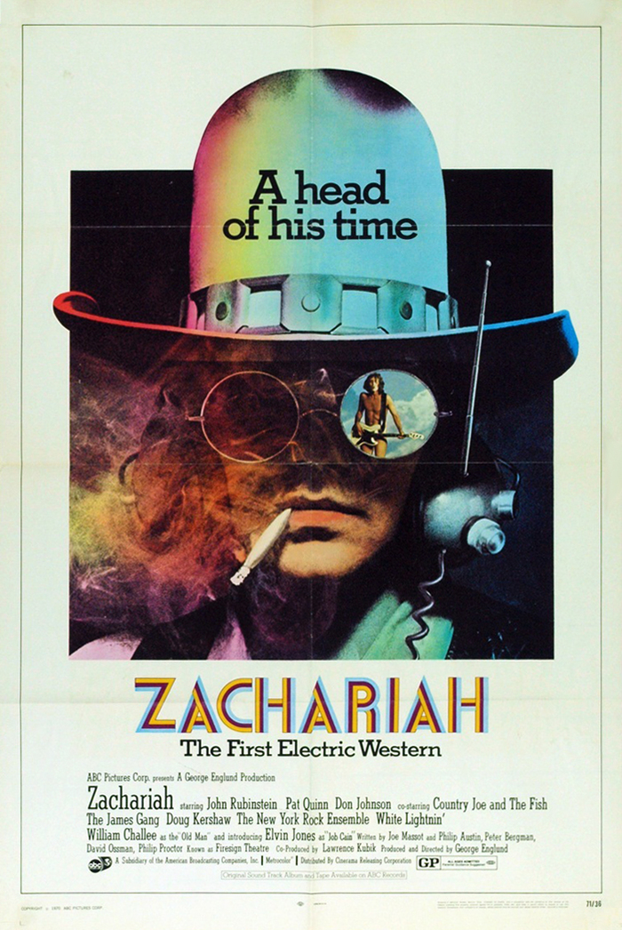 Zachariah: The First Electric Western 1