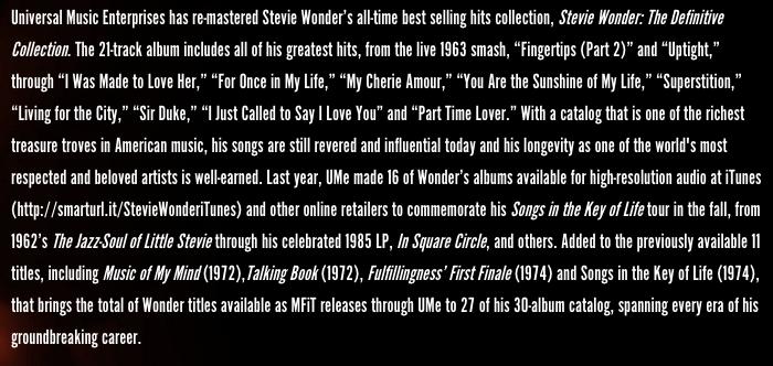 Stevie Wonder website 6