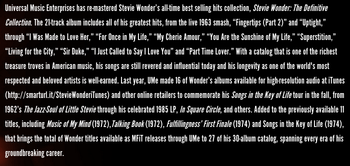 Stevie Wonder website 6