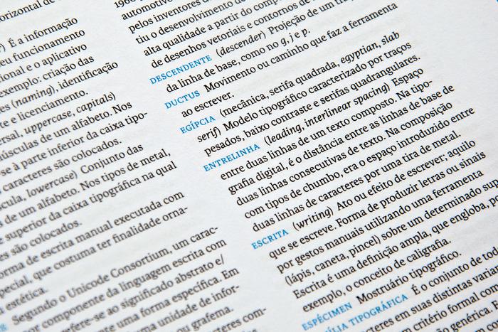 Detail, glossary.