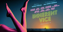 <cite>Inherent Vice</cite> posters, promo art, and jacket design