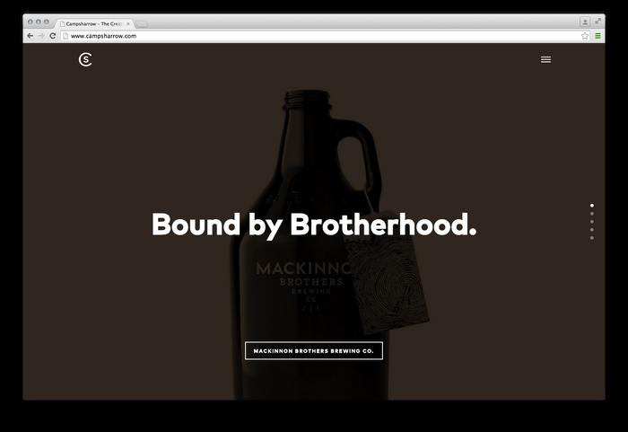 campsharrow website 3