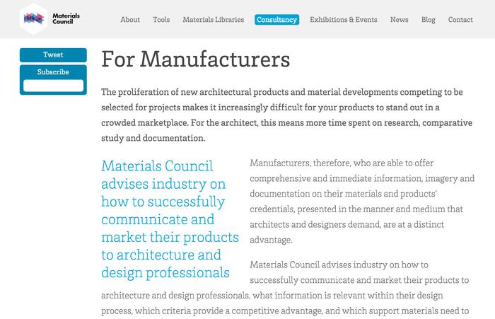 Materials Council 2