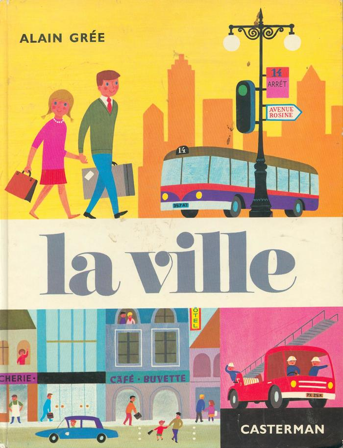 Achille et Bergamote book covers 6